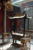 Ling Fung Temple (tempel av Lotus) i Macao Arkivfoto