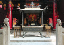 Ling Fung Temple (tempio di Lotus) a Macao Immagini Stock