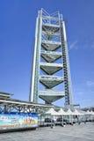Ling Long Pagoda, parque olímpico, Pekín, China imagenes de archivo
