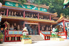 Ling Sen Tong, Świątynna jama, Ipoh Fotografia Stock