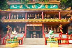 Ling Sen Tong, caverna del tempio, Ipoh Immagini Stock
