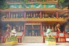 Ling Sen Tong, cueva del templo, Ipoh Foto de archivo
