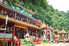 Ling Sen Tong, cueva del templo, Ipoh Imagenes de archivo