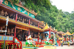 Ling Sen Tong, Temple cave, Ipoh. Ling Sen Tong is a beautiful Taoist cave temple located at the foot of a limestone hill in Ipoh, Perak Stock Images