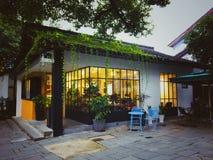Ling yin road in HangZhou royalty free stock photo