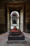 Lingam de piedra de Shiva Fotos de archivo