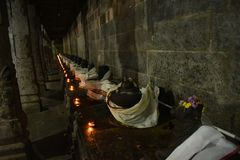 Ekambareswarar Temple ,Kanchipuram, Tamil Nadu royalty free stock image
