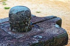 Lingam in meinem Sohn - Hinduismus ruines Stockbild