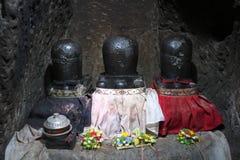 Lingam ou linga en caverne d'éléphant, Goa Gajah, dans Bali Photographie stock libre de droits