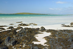 Lingay Strand & Lingeigh Island Royalty Free Stock Photo