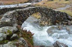 Lingcove-Brücke Eskdale Lizenzfreie Stockbilder