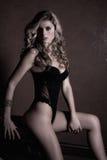 lingerie γυναίκα Στοκ φωτογραφίες με δικαίωμα ελεύθερης χρήσης