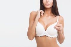 lingerie κοριτσιών ανασκόπησης &lambda Στοκ εικόνες με δικαίωμα ελεύθερης χρήσης