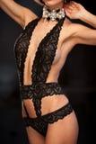 lingerie προκλητικό Στοκ εικόνα με δικαίωμα ελεύθερης χρήσης