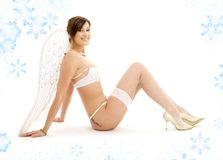 Lingerie angel Royalty Free Stock Photography
