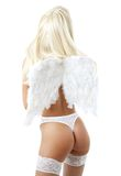 Lingerie angel #2 Royalty Free Stock Image