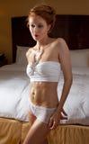 Lingerie in Bedroom Royalty Free Stock Photo