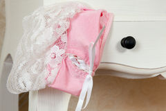 Lingerie drawer closeup Stock Image