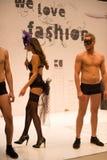 Lingerie & Fashion Show Royalty Free Stock Photo