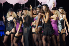 Lingerie fashion show Stock Photography
