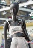 Lingerie mannequin closeup stock photos
