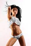 Lingerie model Stock Photos