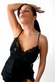 Lingerie Model Stock Photography