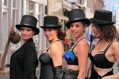 Lingerie models Stock Photos
