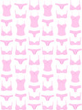 Lingerie pattern Stock Images