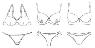 Lingerie. Stock Images