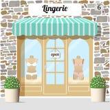 Lingerie shop. Stock Photo
