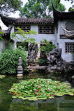 A Lingering Garden landscape Royalty Free Stock Photo