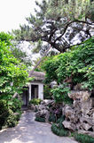 A Lingering Garden landscape. Lingering Garden Park building layout ingenious, numerous and well-known stone. One of the four famous gardens in Chinese Stock Image