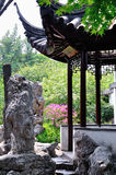 A Lingering Garden landscape. Lingering Garden Park building layout ingenious, numerous and well-known stone. One of the four famous gardens in Chinese Stock Photography