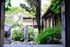 A Lingering Garden landscape Royalty Free Stock Photography