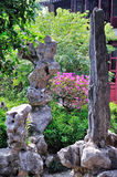 A Lingering Garden landscape Stock Image