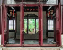 The Lingering Garden, a renowned classical Chinese garden, recognized as a UNESCO World Heritage Site at Suzhou, Jiangsu province,. China stock photography