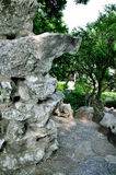 Lingering Garden, rockery Royalty Free Stock Images