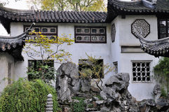 Lingering garden in suzhou Royalty Free Stock Photo