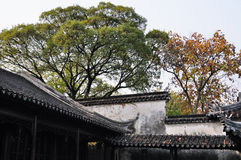 Lingering garden in suzhou Stock Images