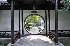 Lingering garden in suzhou Stock Photography