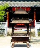 Linggu Buddhist temple incense burner Stock Images