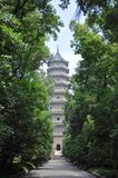 Linggu Pagoda, Nanjing, China Royalty Free Stock Photos