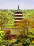 Linggu Pagoda Stock Photography