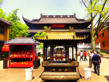 Linggu Temple стоковое изображение