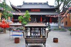 Linggu Temple, Nanjing, China stock image