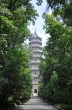 linggunanjing pagoda Royaltyfria Foton