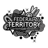 Background Malaysia national holiday of february 1. Federal territory day. Designs for posters, backgrounds, cards, banners, stick. Ers, etc. EPS file available royalty free illustration