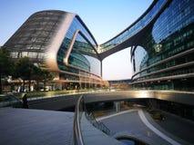 Lingkong SOHO Shanghai hongqiao niedaleki lotnisko Obraz Stock