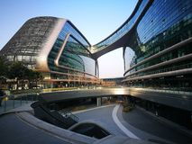 Lingkong SOHO Shanghai hongqiao niedaleki lotnisko Zdjęcia Royalty Free